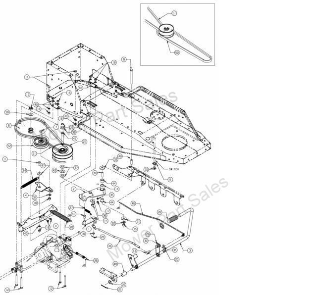 Craftsman Dyt 4000 Wiring Diagram besides 7kt1b John Deere Riding Lawn Mower Will Not Go in addition Wiring Diagram For Troy Bilt Pony Schematic moreover Snapper Mowers Belt Repair Diagram further Blower Housing. on riding lawn mower replace…